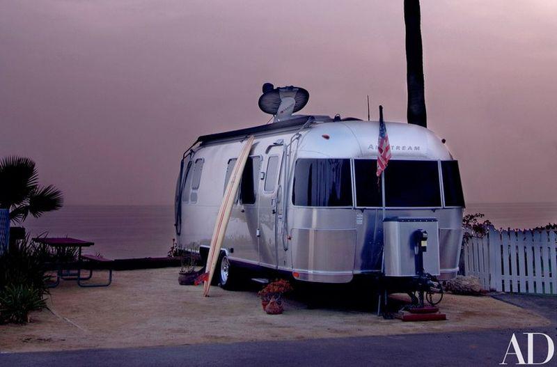 Matthew McConaughey's customized Airstream trailer