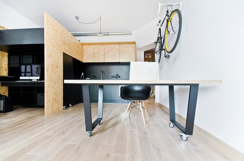 Smart utilisation of use using oriented strand boards