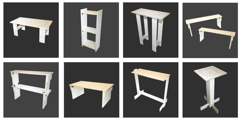 Turn your existing bar stool into different furniture