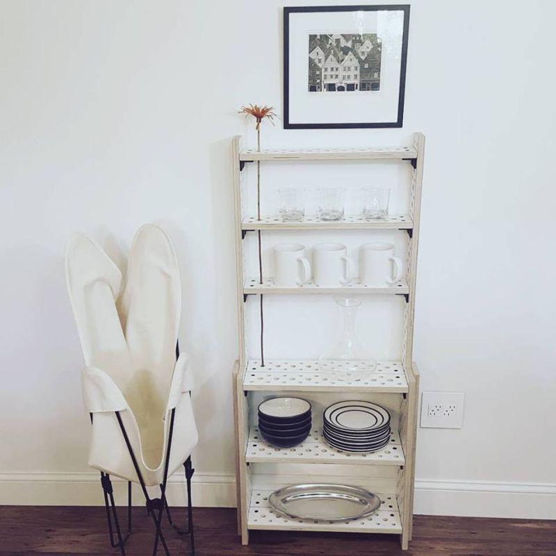 Turn into a book shelf
