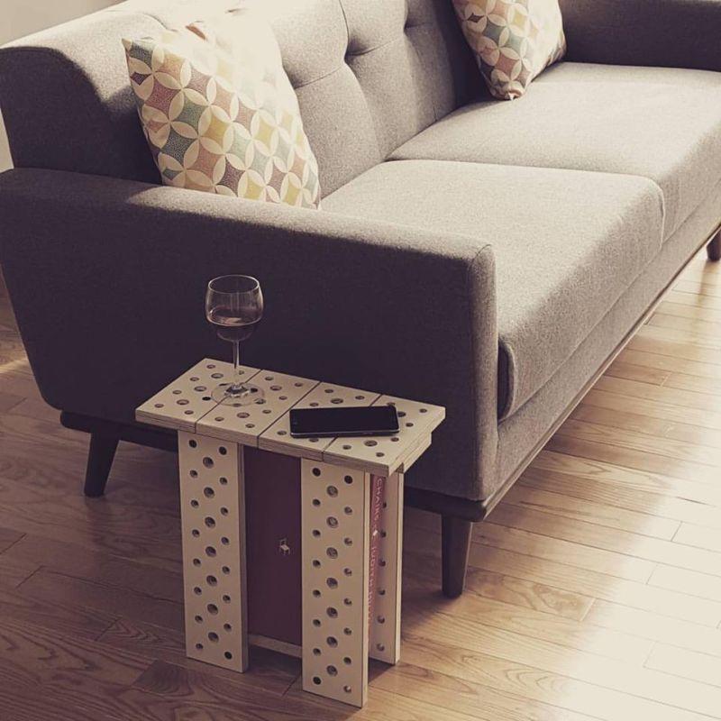Make a side table