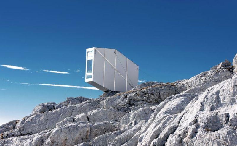 OFIS Arhitekti's Winter Cabin