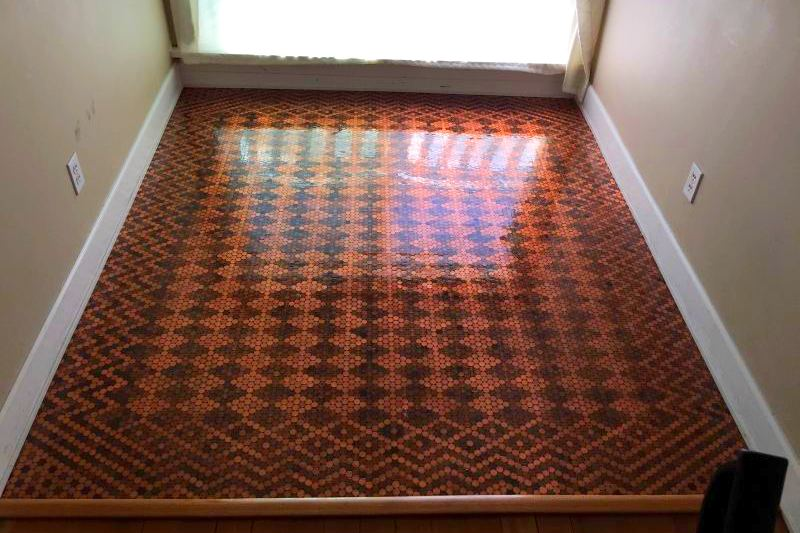 Mosaic Floor By Carefully Laying Out