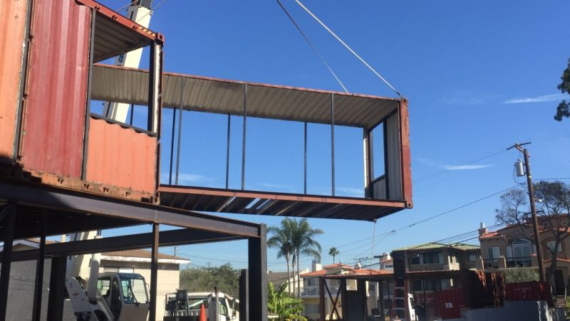 Lucia container home with two accommodation units