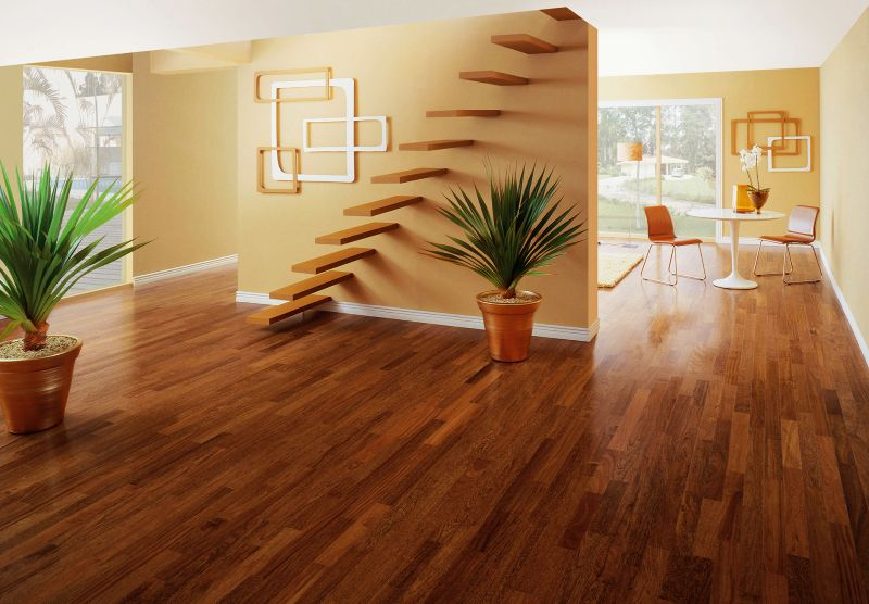 Real wood flooring