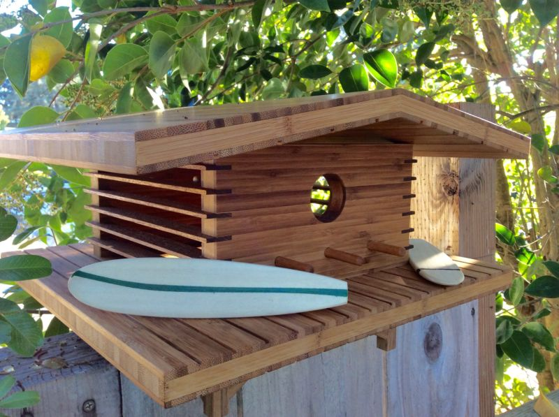 Sourgrassbuilt builds birdhouses inspired from historic architecture_6