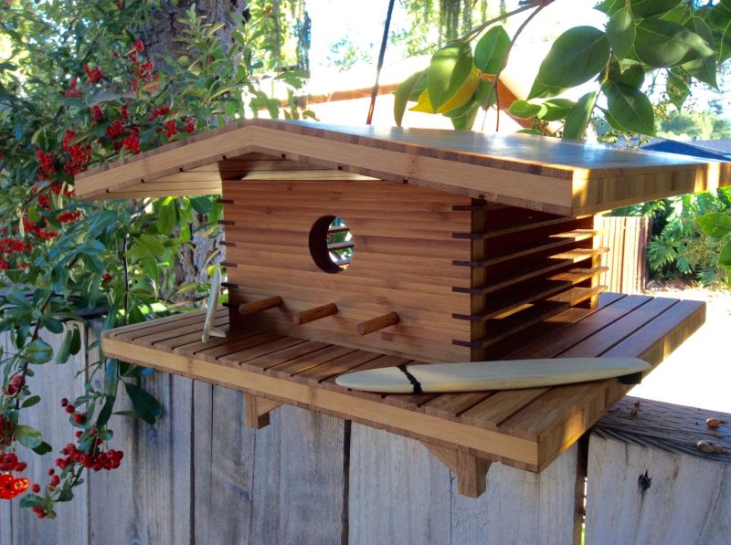 Sourgrassbuilt builds birdhouses inspired from historic architecture_7