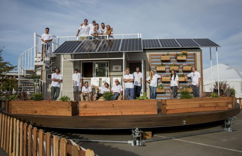 The rEvolve house by Santa Clara University