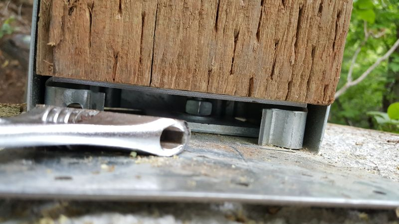 Simpson Strong-Tie zinc coated post base for connecting posts