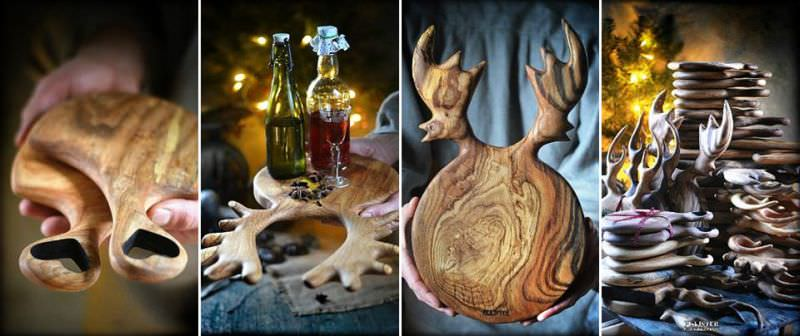 Wooden Kitchenware by PLAjSTER