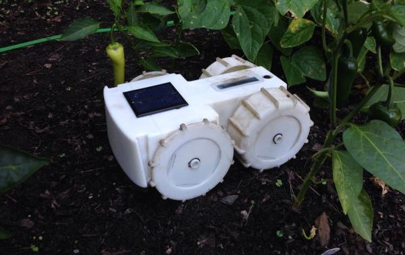 Tertill-solar-powered-gardening-robot