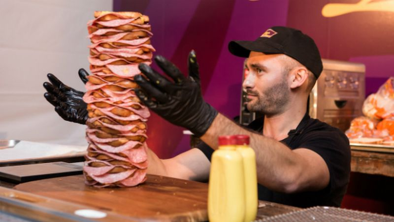 world's tallest sandwich