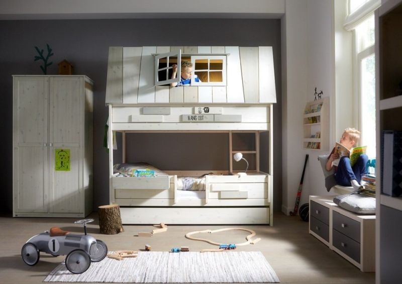 Adventure kids bunk bed from Denmark