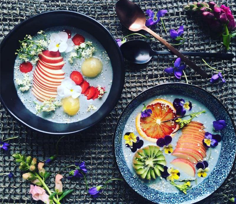 Coconut milk bowls by Ami Shoesmith
