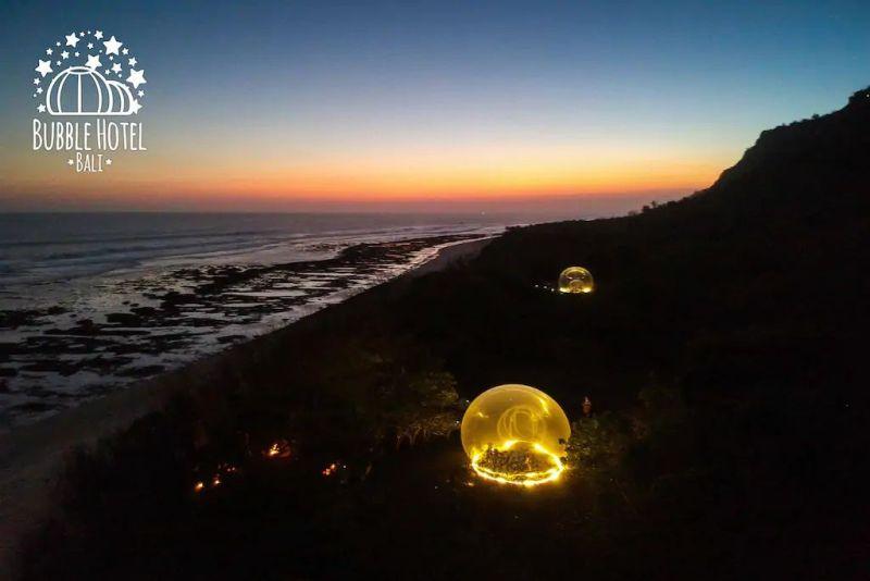 Bubble hotel in Uluwatu, Bali