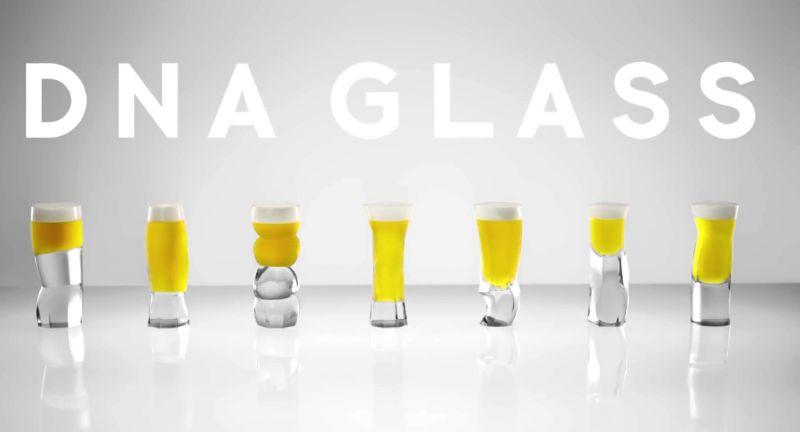 Japanese DNA glass