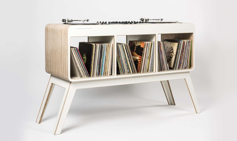 Hoerboard DJ table by David Kornmann