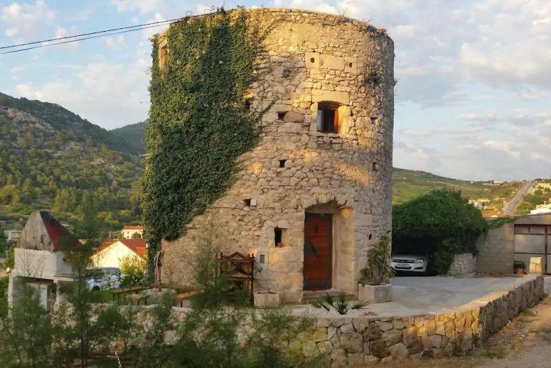 Old Tower in Hvar, Croatia