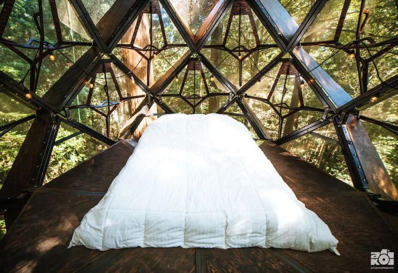 The Pinecone Treehouse in Bonny Doon, California
