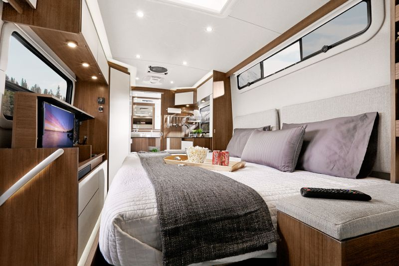 Properly utilized interior and exterior space