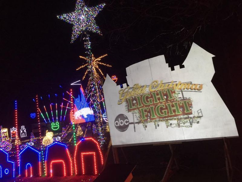 Twins won $50,000 and a trophy for winning The Great Christmas Light Fight