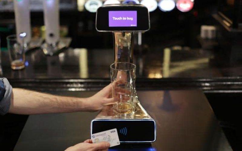 contactless-beer-pump