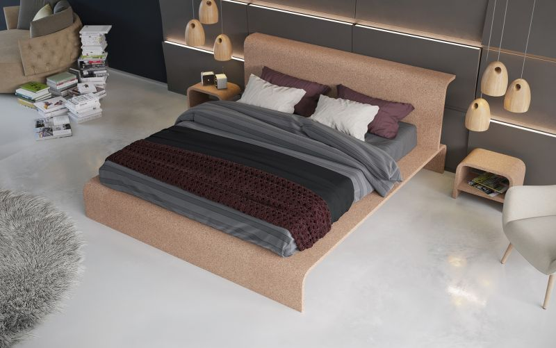 Bisu cork bed by OTQ is perfect for insomniacs