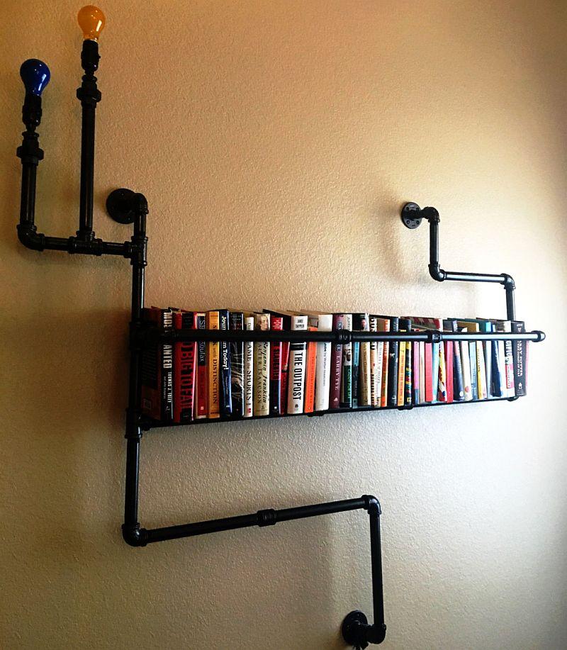 industrial-pipe-bookshelf-i-industrial-pipe-shelf-i-industrial-pipe-decor