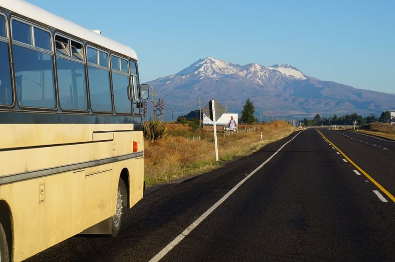 Renovated bus home by Andrew and Amber - Mobile Homes