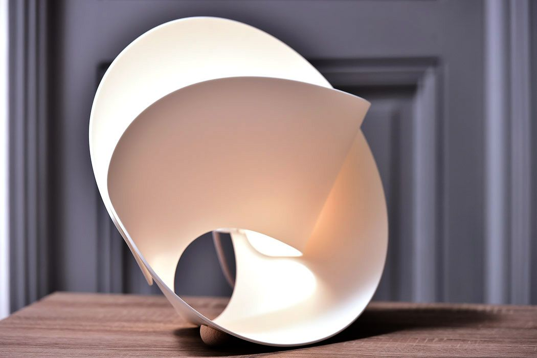 Tulip lamp by Pierre Cabrera