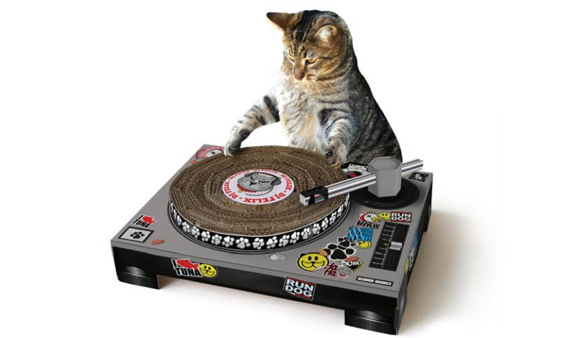 cat turntable by suck uk