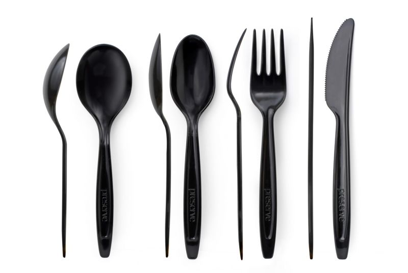 recycled plastic cutlery