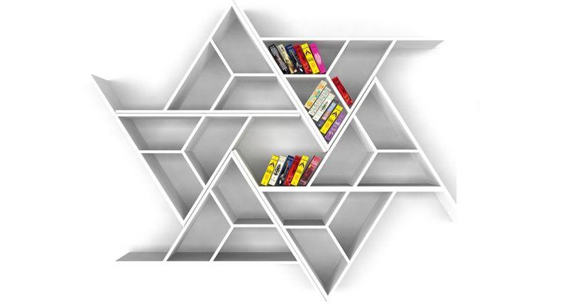 Be Modular bookshelf by Ayça Sevinç