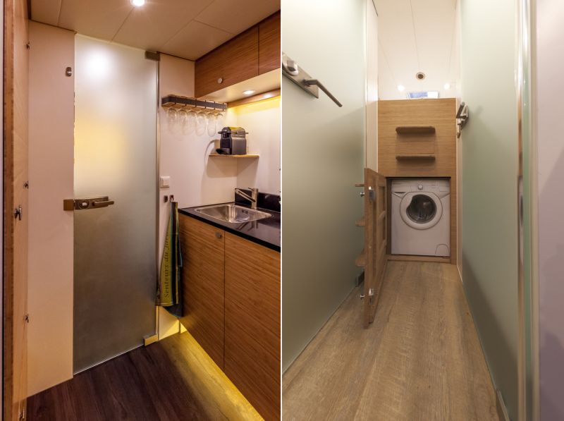 Container-shaped housing units by Bliss Mobil are perfect for outdoor expeditions