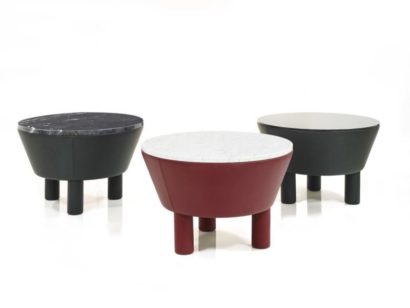 Leather-Side-Table