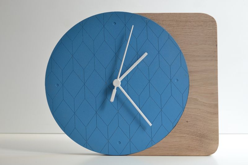 Lisa Nanlohy's Tik Tok hanging clock adds a punch of color to walls