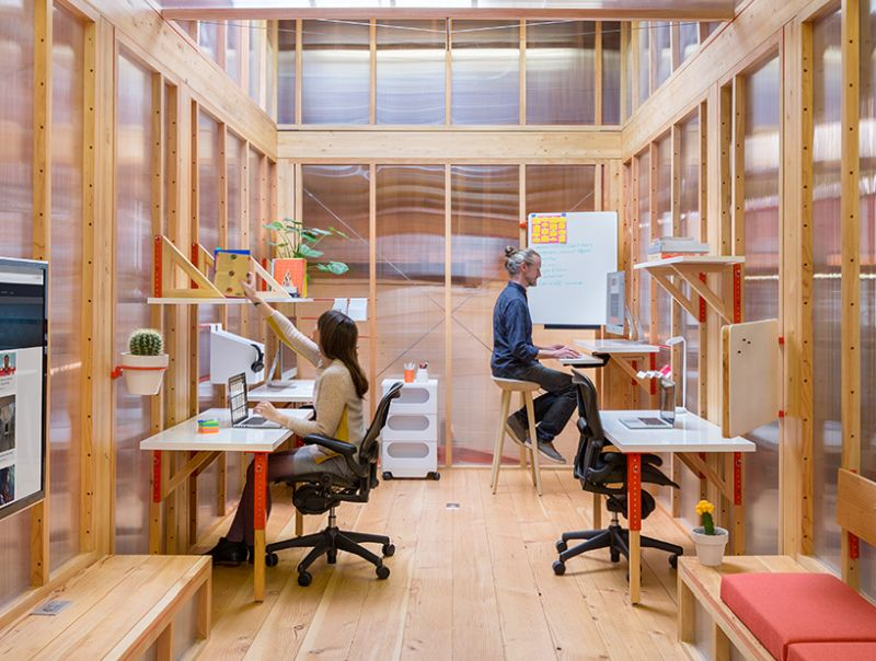 Mobile Work Units by LOS OSOS