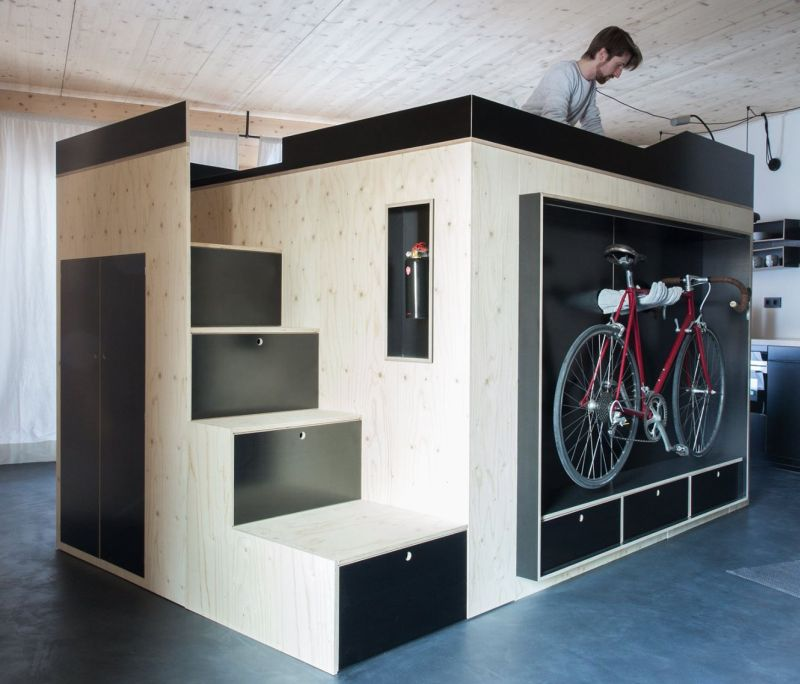 Moormann's Kammerspiel is all-in-one living cube