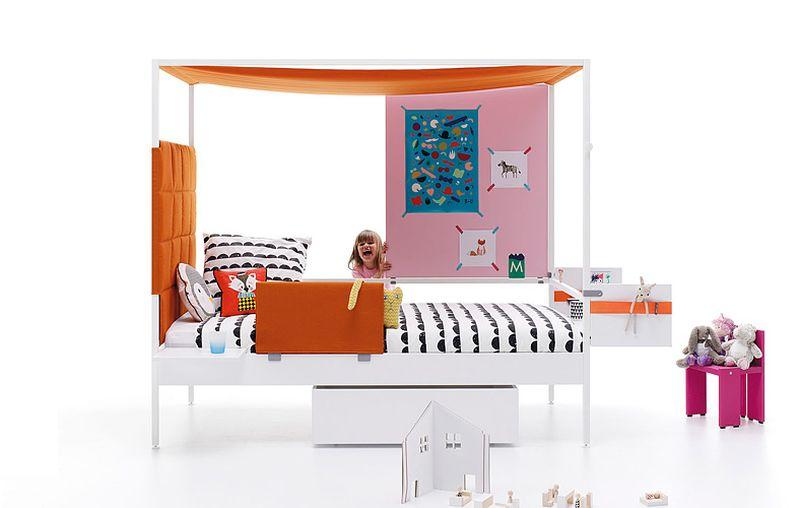 Nook single bed by JJP furniture