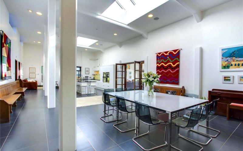 Old water pumping station converted into an energy-efficient home