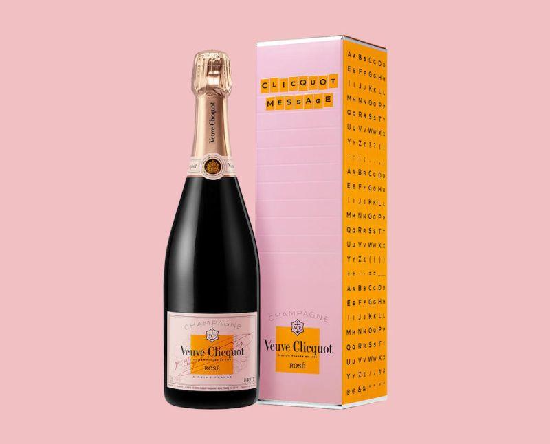 Veuve Clicquot Rosé Scream Your Love megaphone
