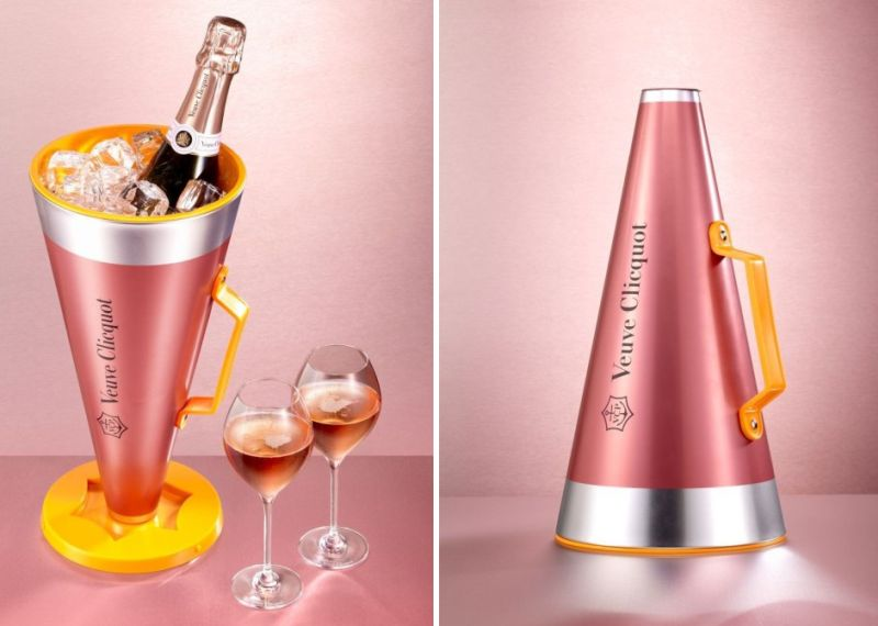 Veuve Clicquot Rosé Scream Your Love megaphone