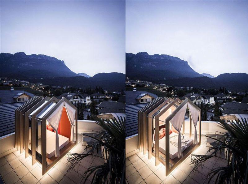 NOA* creates terrace cabana at Das Panorama hotel