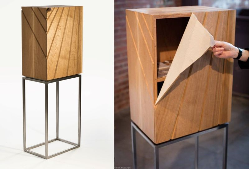 Peel Cabinet by Leah K.S. Amick