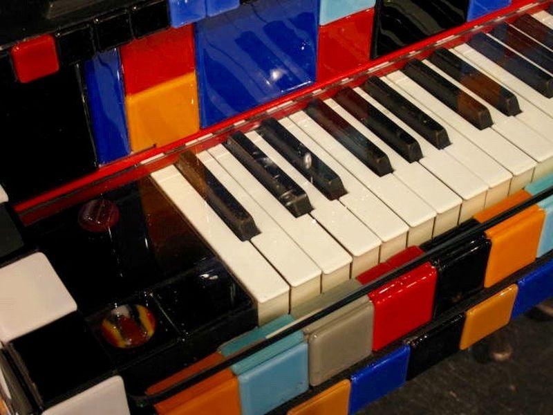 Piano bar by Gina Michel