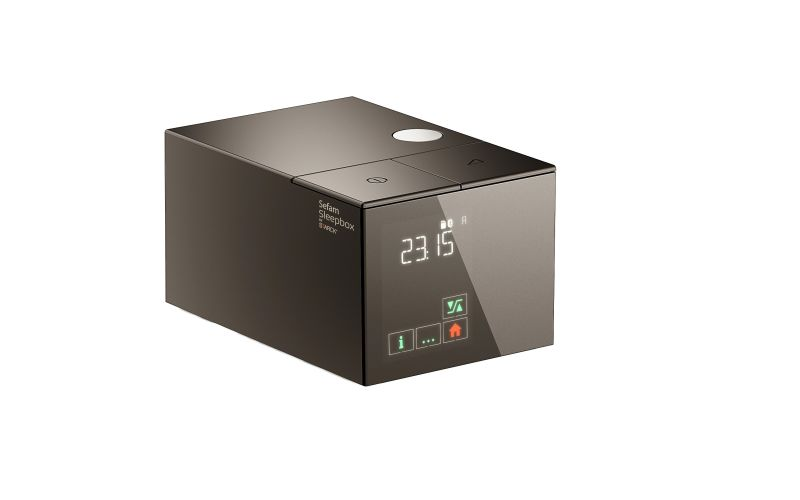 Sleepbox by Philippe Starck is digital CPAP device for sleep apnea patients