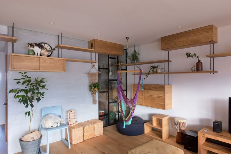 cat-friendly apartment in japan