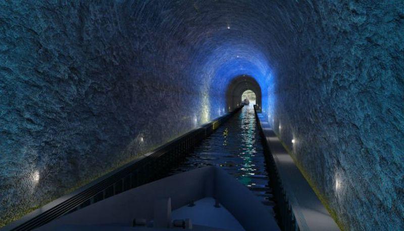 world's first ship tunnel