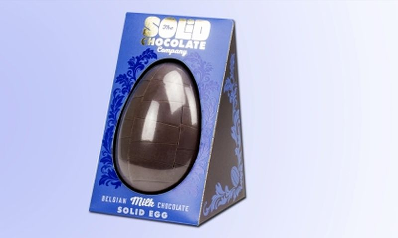 world's first solid easter egg