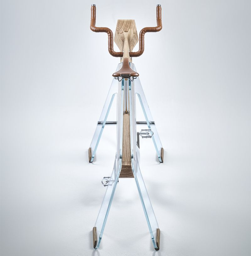 Fuoripista is one of the most elegant exercise bikes you'll ever see